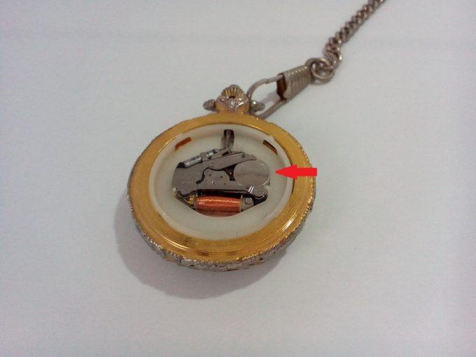 懐中時計電池交換