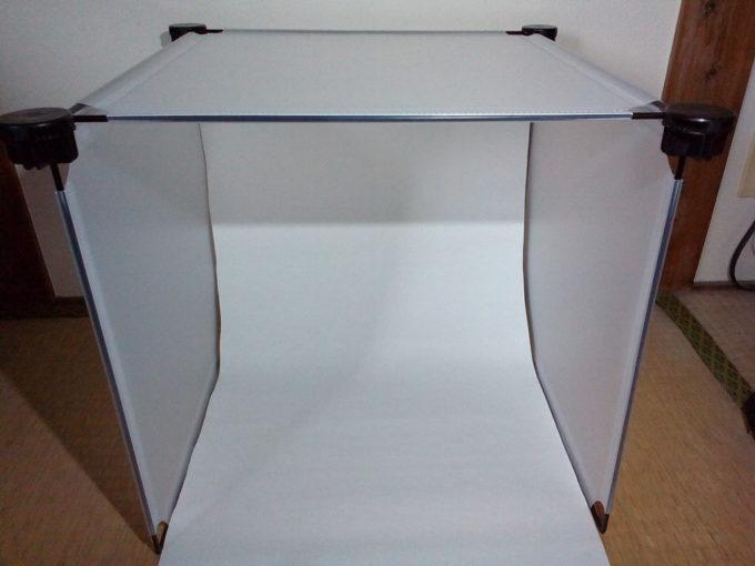 簡易撮影用ボックスの完成