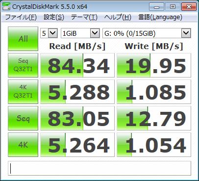 磁気研究所 HIDISC microSDHCメモリカード 16GB HDMCSDH16GCL10UIJPWOA のベンチマーク